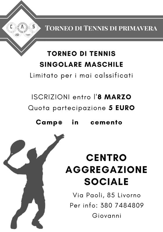 torneo tennis livorno
