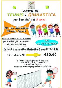 corso tennis bambini