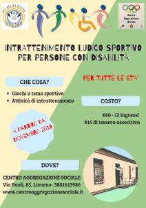 servizi per disabili livorno