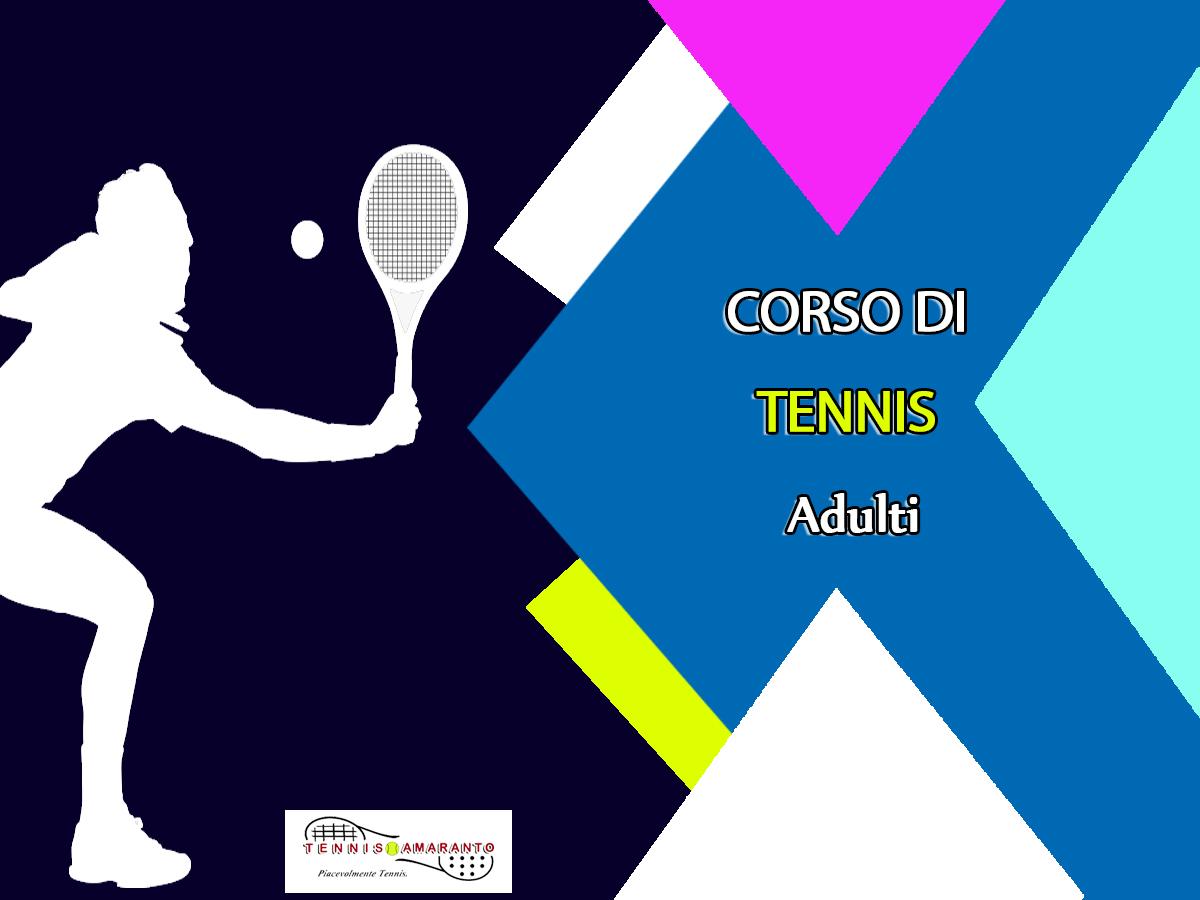 corsi di tennis adulti livorno